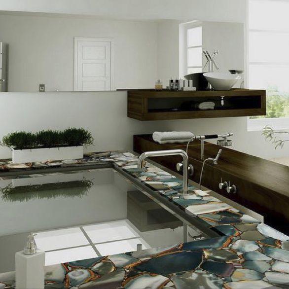 Marmor arbeitsplatte küchen angel jasper