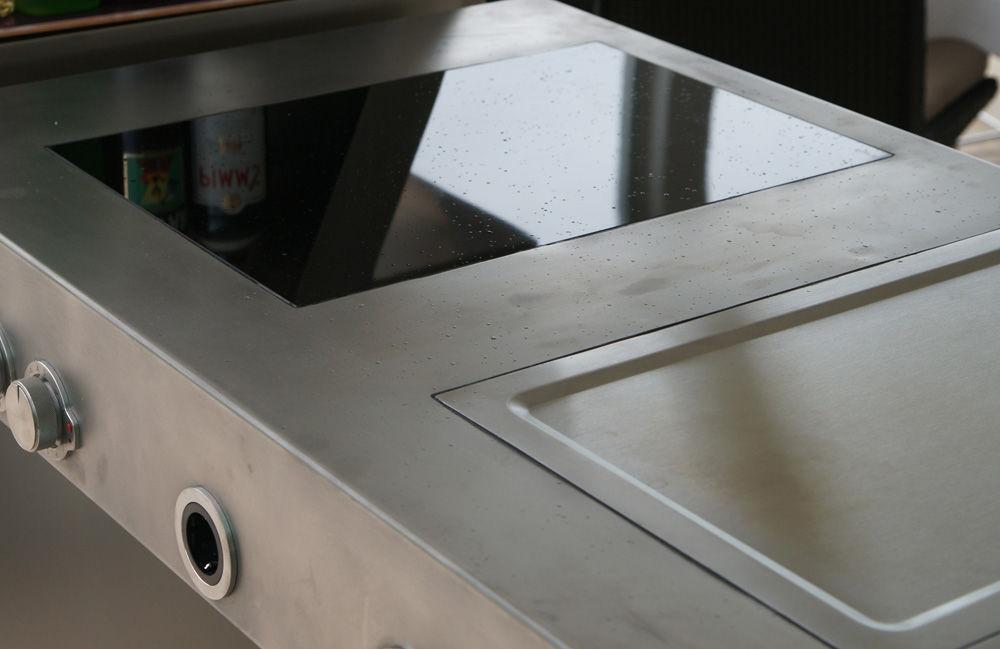 Schön Designer Multifunktionstisch Kuche Innen Ausen U2013 Topby At Kuchen Deko.  Moderne Küche / Edelstahl / Kochinsel / Gewerbe   By Massimo, Kuchen Deko