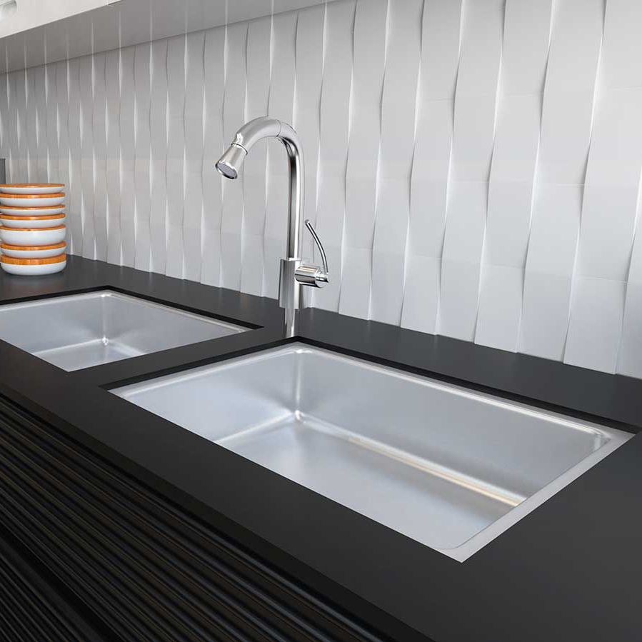 Innenraum Fliesen / Wand / Keramik / Wellenmuster   DELTA M/DELTA XL