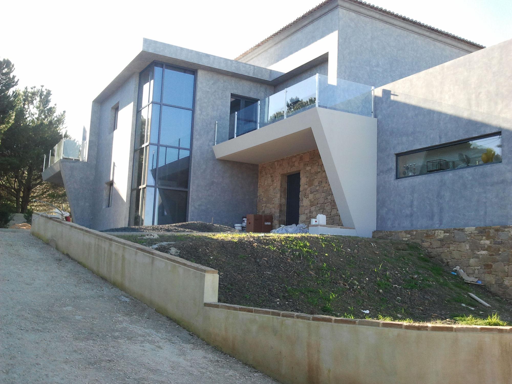 Modulhaus / Fertigbau / modern / Beton - MODERNE - IBS Distribution
