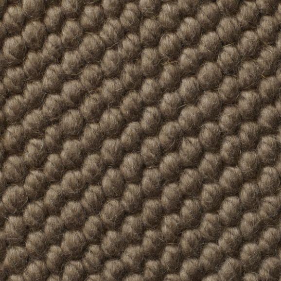 Teppichboden wolle  Gewebter Teppichboden / Schlingen / handgewebter / Wolle - NATURAL ...