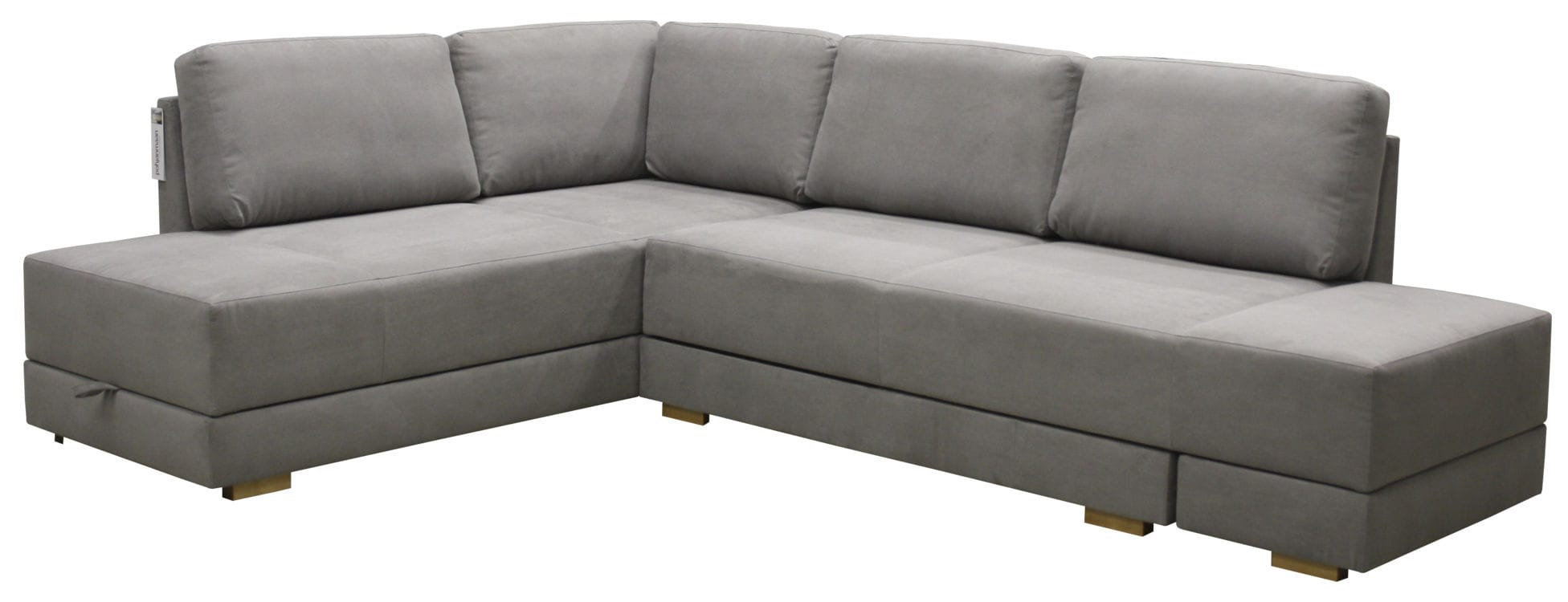 Eckbettsofa leder  Bettsofa / Eck / modern / Leder - BROOKLYN - Luonto furniture