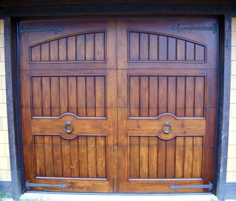 Garagentor Holz einflügeliges garagentor / holz / manuell - whitson - appwood