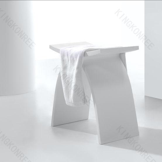 Hocker Für Badezimmer / Modern / Aus Acryl / Mineralwerkstoff   KKR  A