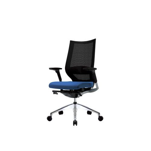 moderner sessel für büro / gewebe / dreh / mit rollen - fortis - patra, Hause deko