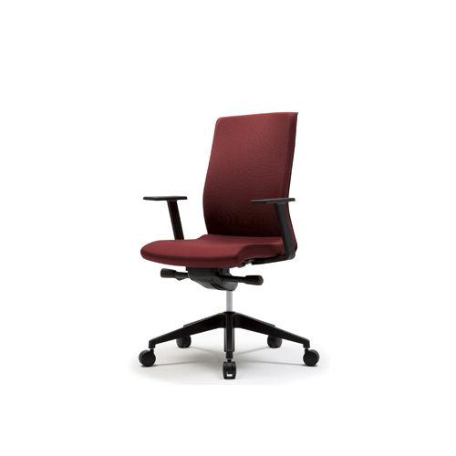 moderner sessel für büro / gewebe / dreh / mit rollen - mono - patra, Hause deko