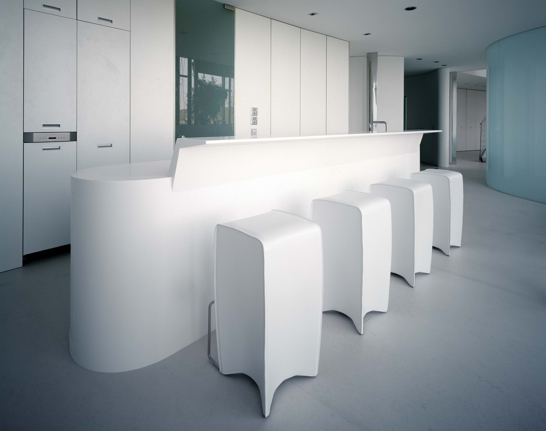 Kücheninsel - WHITELINE - AMOS DESIGN
