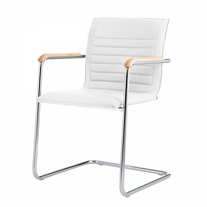 Besucherstuhl Bauhaus Design Mit Armlehnen Polster Mit