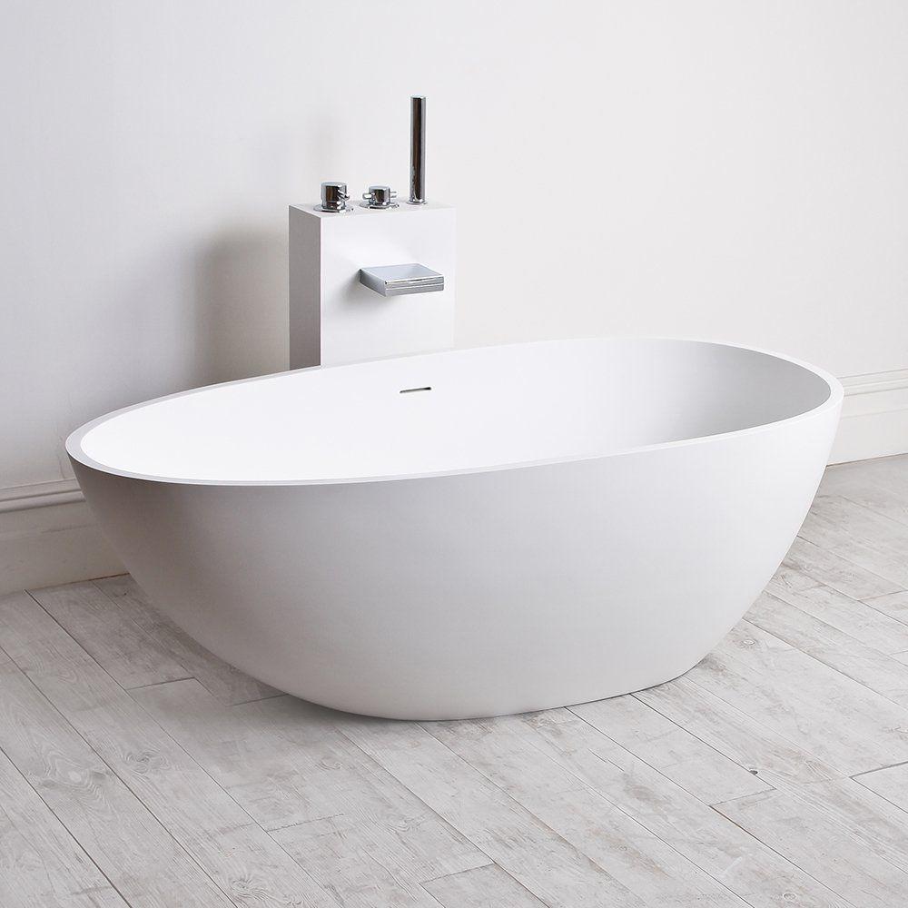 Freistehende Badewanne / oval / Verbundwerkstoff - EGG SHELL MINI ... | {Freistehende badewanne oval 68}