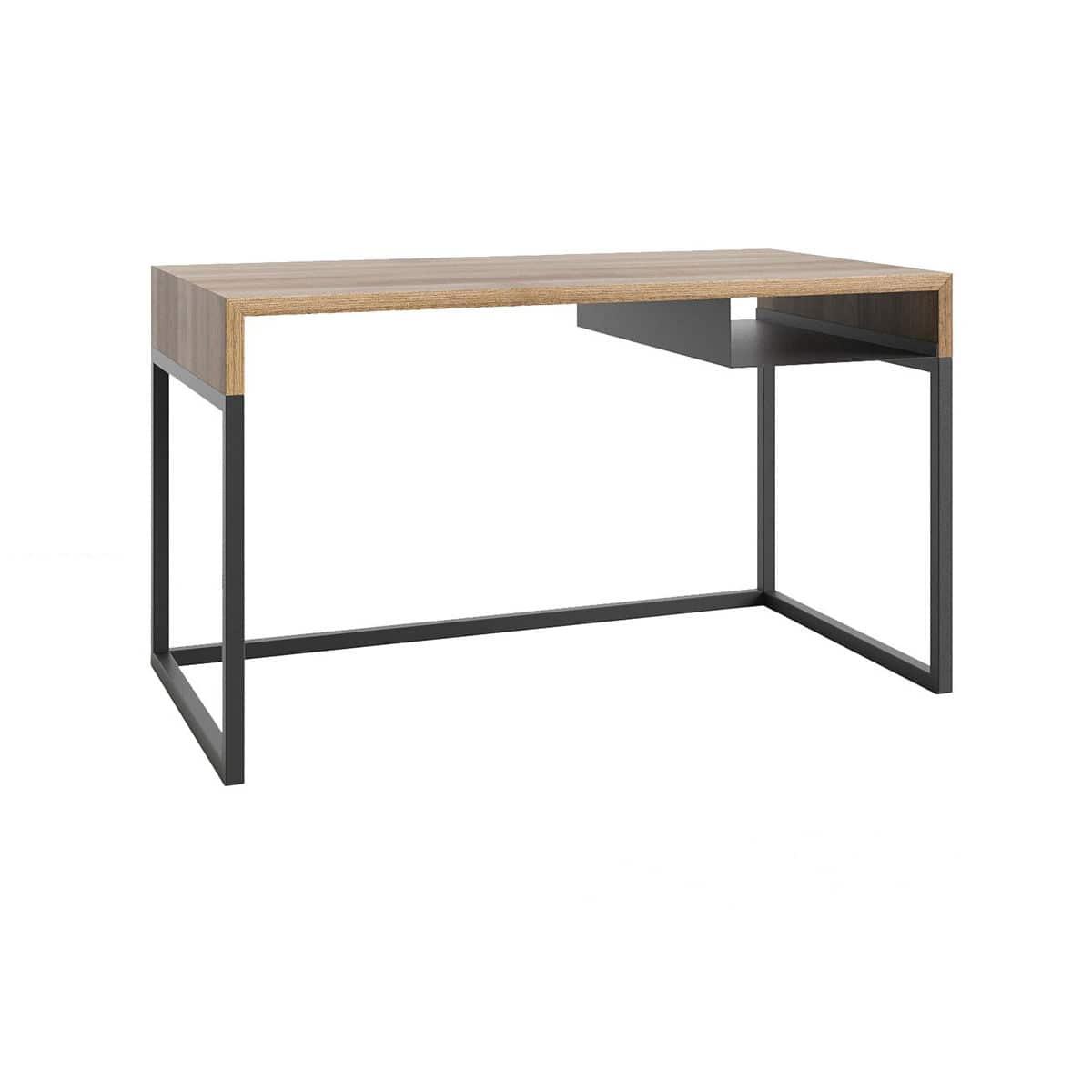 Schreibtisch aus Eiche / Stahl / Skandinavisches Design - WOODBOX by ...