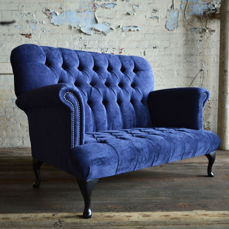 Chesterfield sofa samt  Chesterfield-Sofa / Samt / 2 Plätze / 3 Plätze - COCKBURN - Abode ...