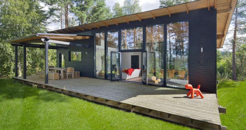 Fertigbauhaus Modern Aus Holz Glas Taiga Polar Life Haus