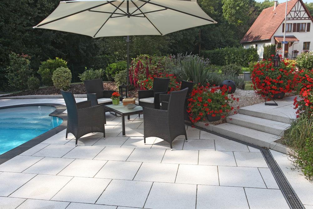 Fliesen Für Den Garten / Für Poolrand / Für Böden / Beton