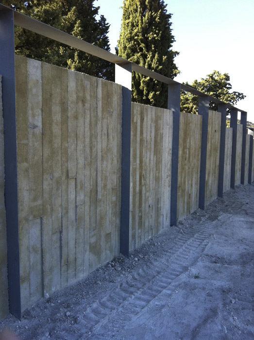Zaun Fur Grunanlagen Platten Beton Prefabricados Alberdi