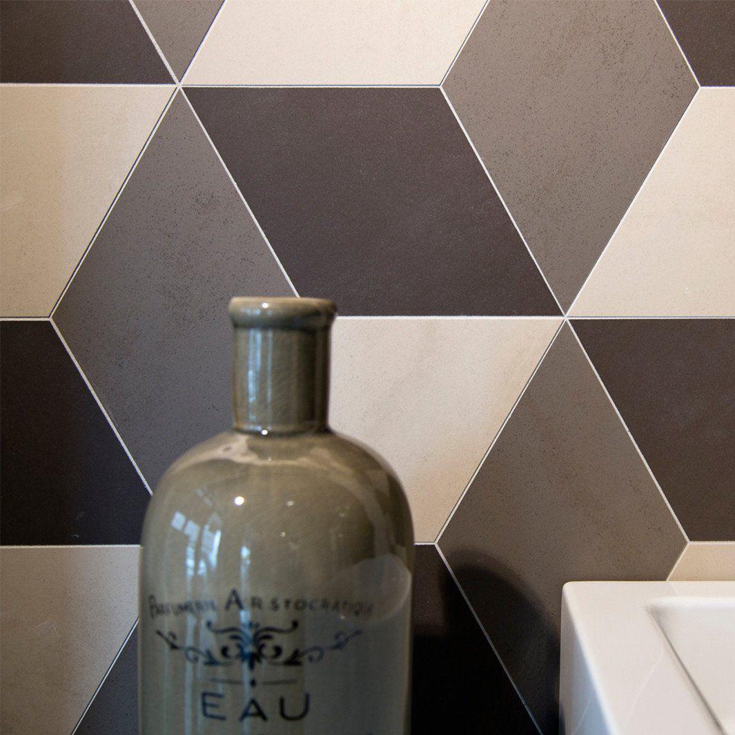 Innenraum-Fliesen / für Fußböden / Keramik / mit geometrischem ...