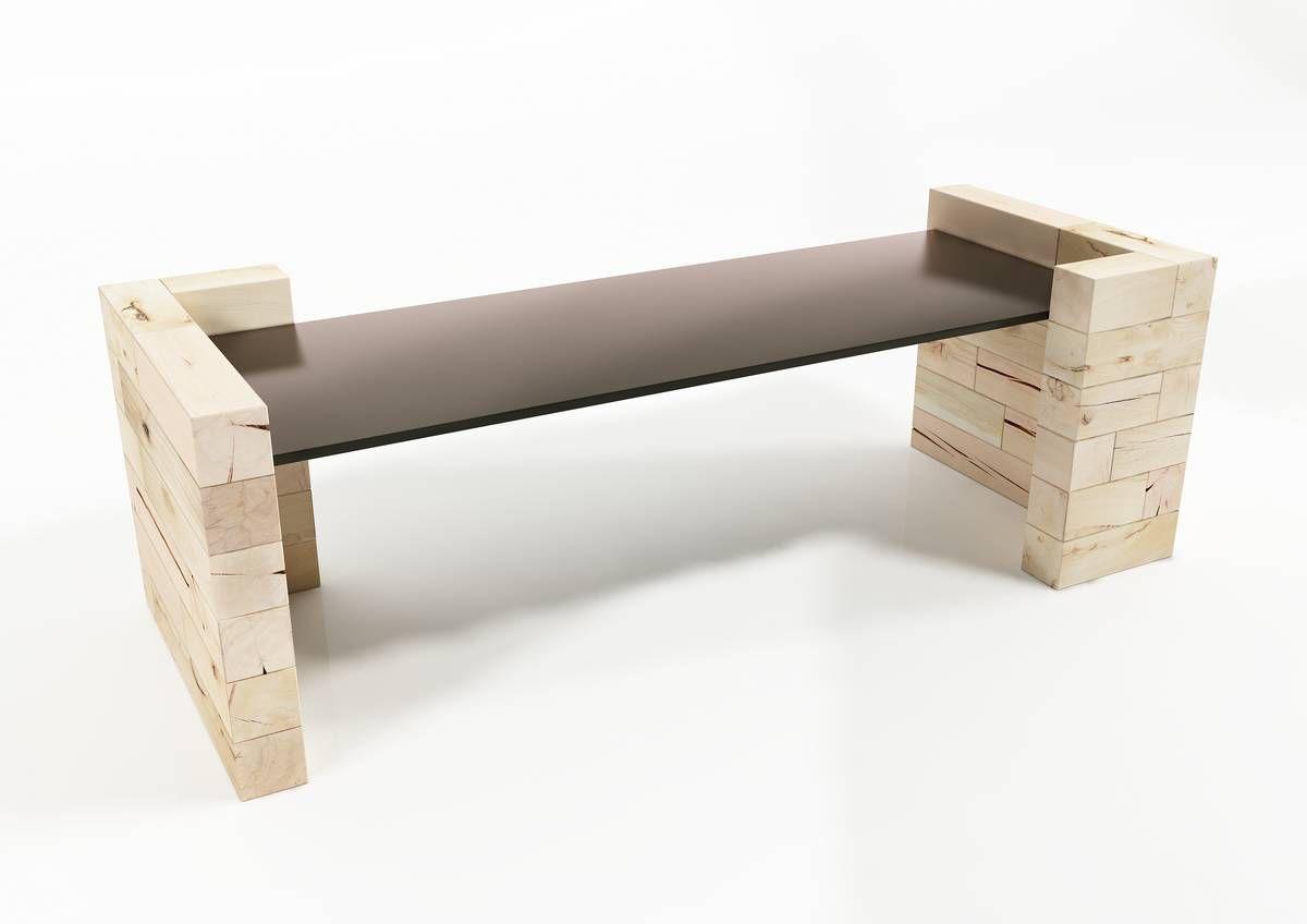 Schreibtisch holz modern  Schreibtisch für Open Space / Holz / modern / Gewerbe - Craftwand