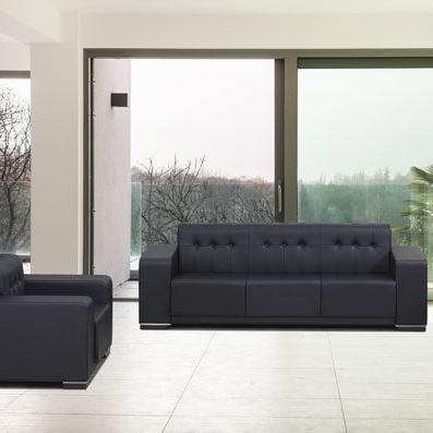 Modernes Sofa Leder Objektmobel 3 Platze Lazulli Flekssit