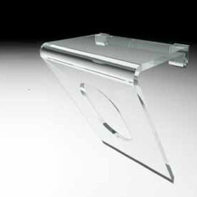 Moderner Hocker / Kunststoff / Badezimmer / transparent - SP1 ...