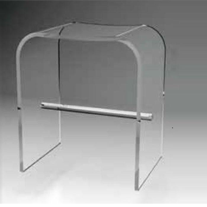 Moderner Hocker / Kunststoff / Badezimmer / transparent - SP3 ...