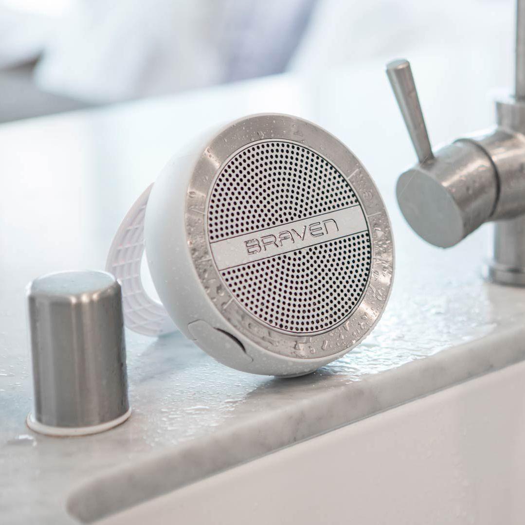 Bluetooth-Lautsprecher / kabellos / für Badezimmer - MIRA - BRAVEN ...