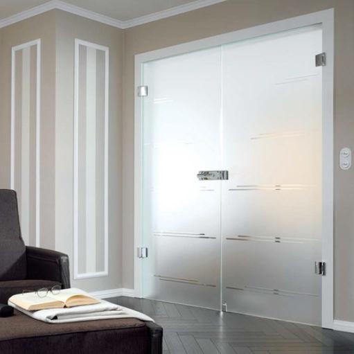 Doppelflügeltür Innen Doppelflügeltür / Innen / Einflügelig / Glas   ZAMBRA    ALLIAVERRE