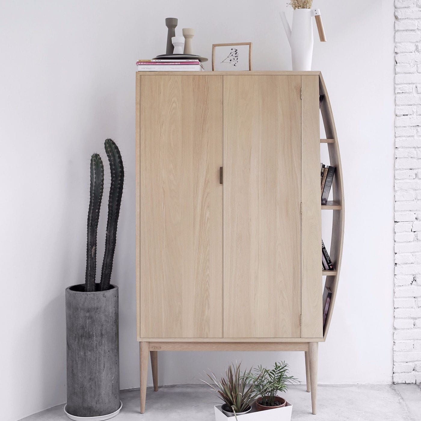 Moderner Wohnzimmerschrank / Holz - REACHING - Ziinlife