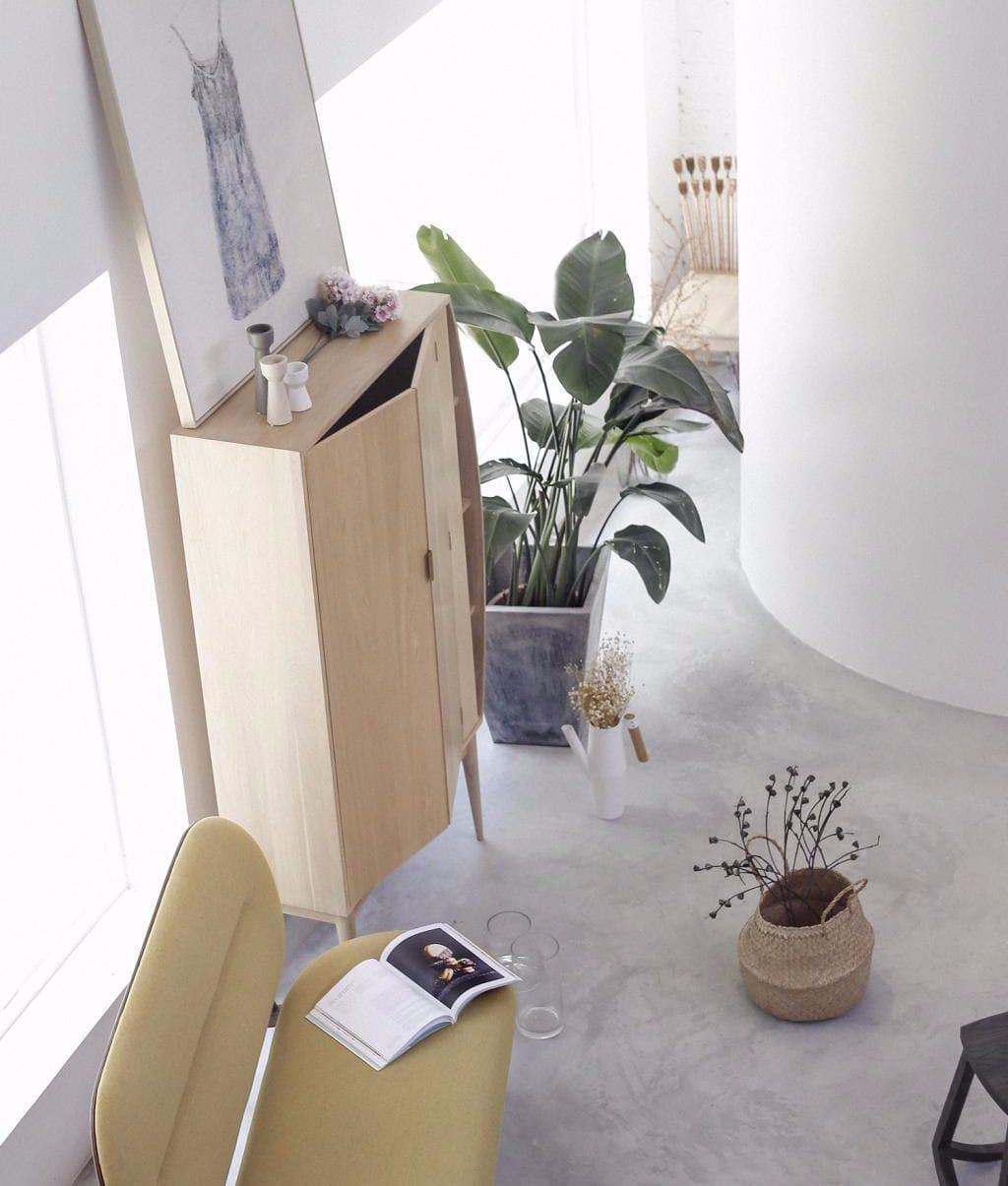 Moderner wohnzimmerschrank / holz   reaching   ziinlife