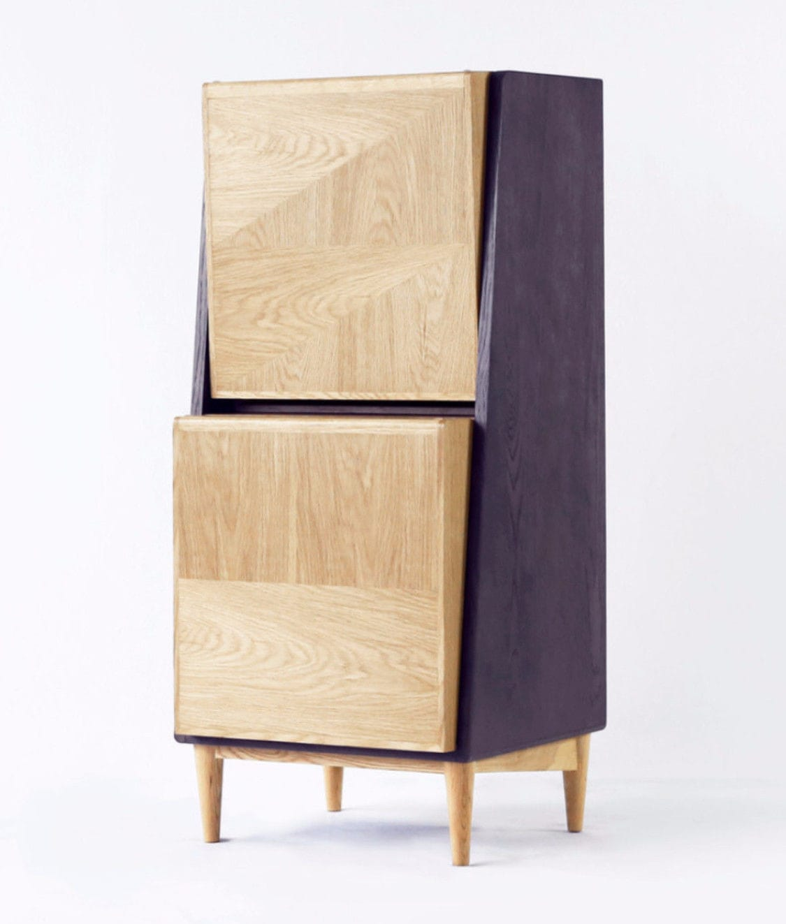 Moderner Schuhschrank / Holz - LOOK AFTER - Ziinlife