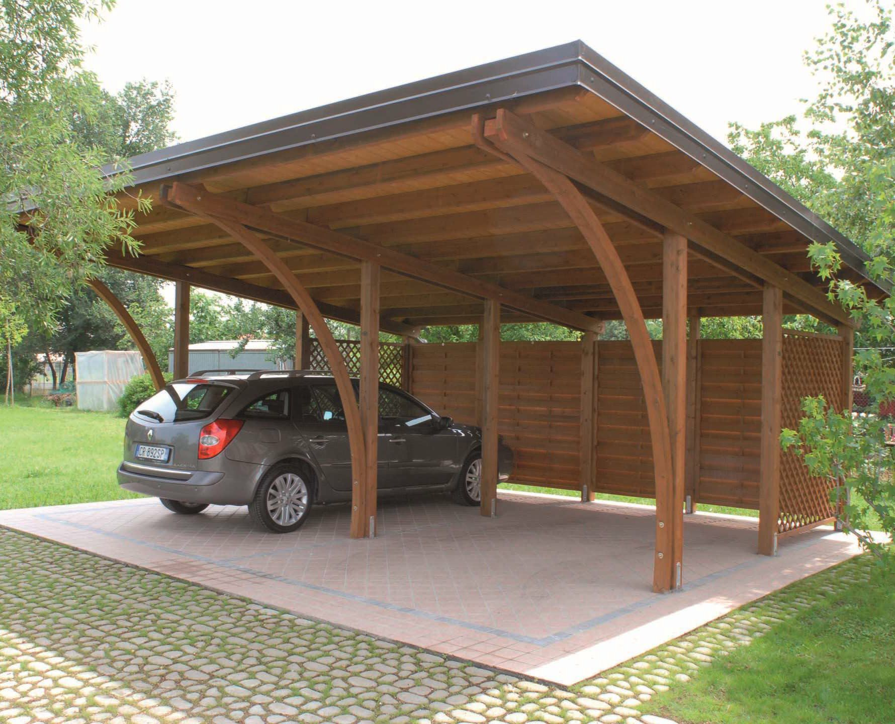 Holz Carport Pircher