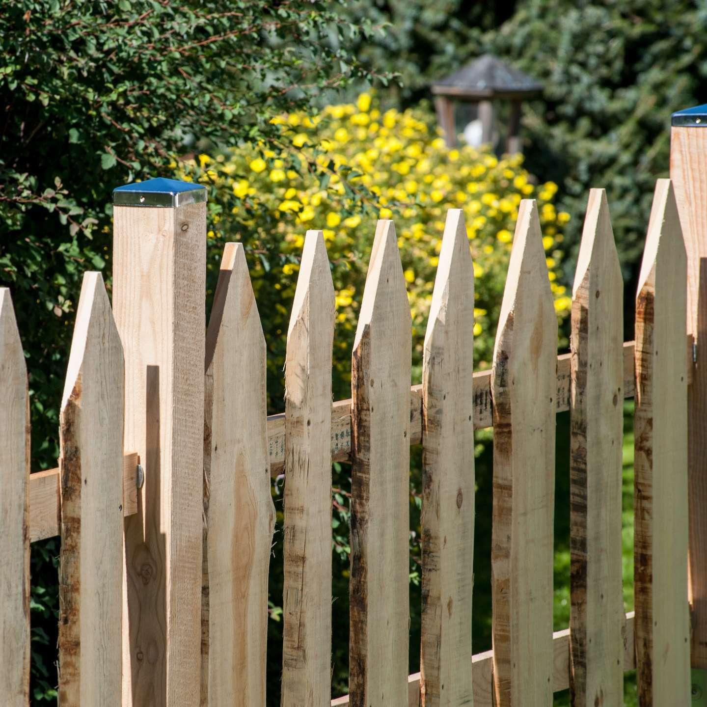 Gartenzaun Stangen Holz COUNTRY Pircher