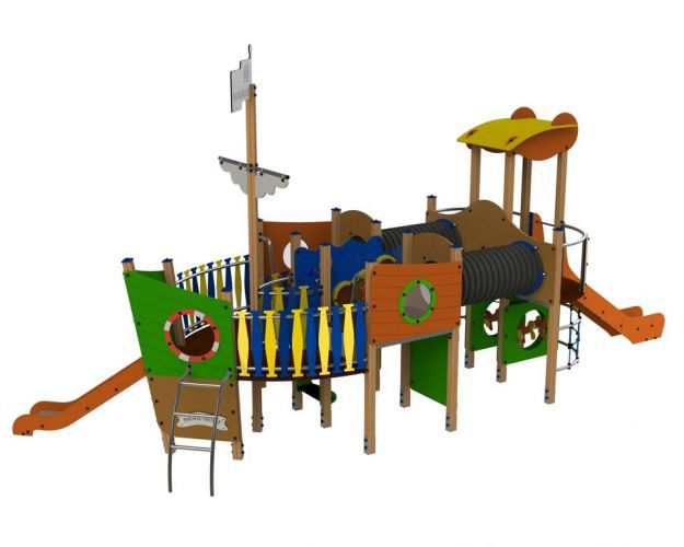 Klettergerüst Edelstahl : Spielplatzgerät für spielplätze hdpe holz edelstahl lancha