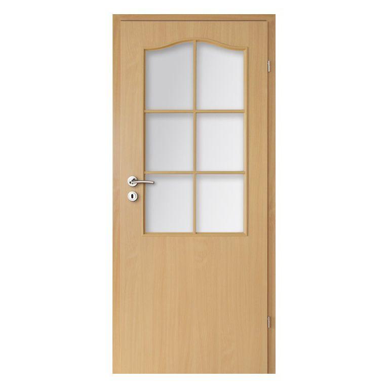 Innenbereich-Tür / einflügelig / aus MDF / Melamin - FOILED LEAVES ...