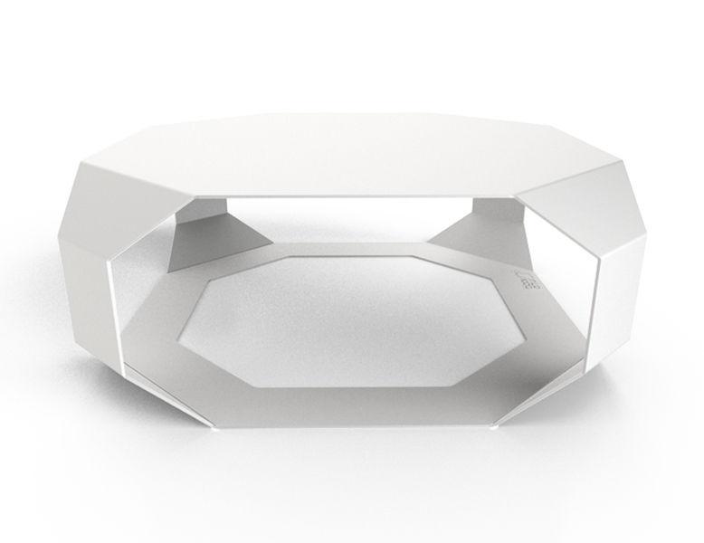 Moderner Couchtisch Plexiglas Aus Corian Aus Eiche Edge
