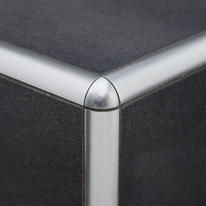 Abschlussprofil Fur Ausseneckprofil Messing Aluminium Fur