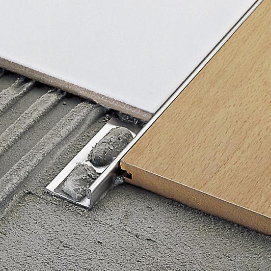 Abschlussprofil Fur Fliesen Pvc Messing Aluminium Cerfix