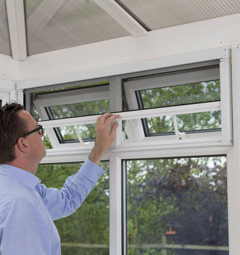 Sehr Gut Roll-Insektenschutz / Vertikalschiebe / zum Schieben / für Fenster  YB17