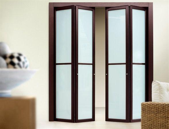 Innentür modern  Innentür / faltbar / Laminat / verglast - MODERN - Dayoris doors