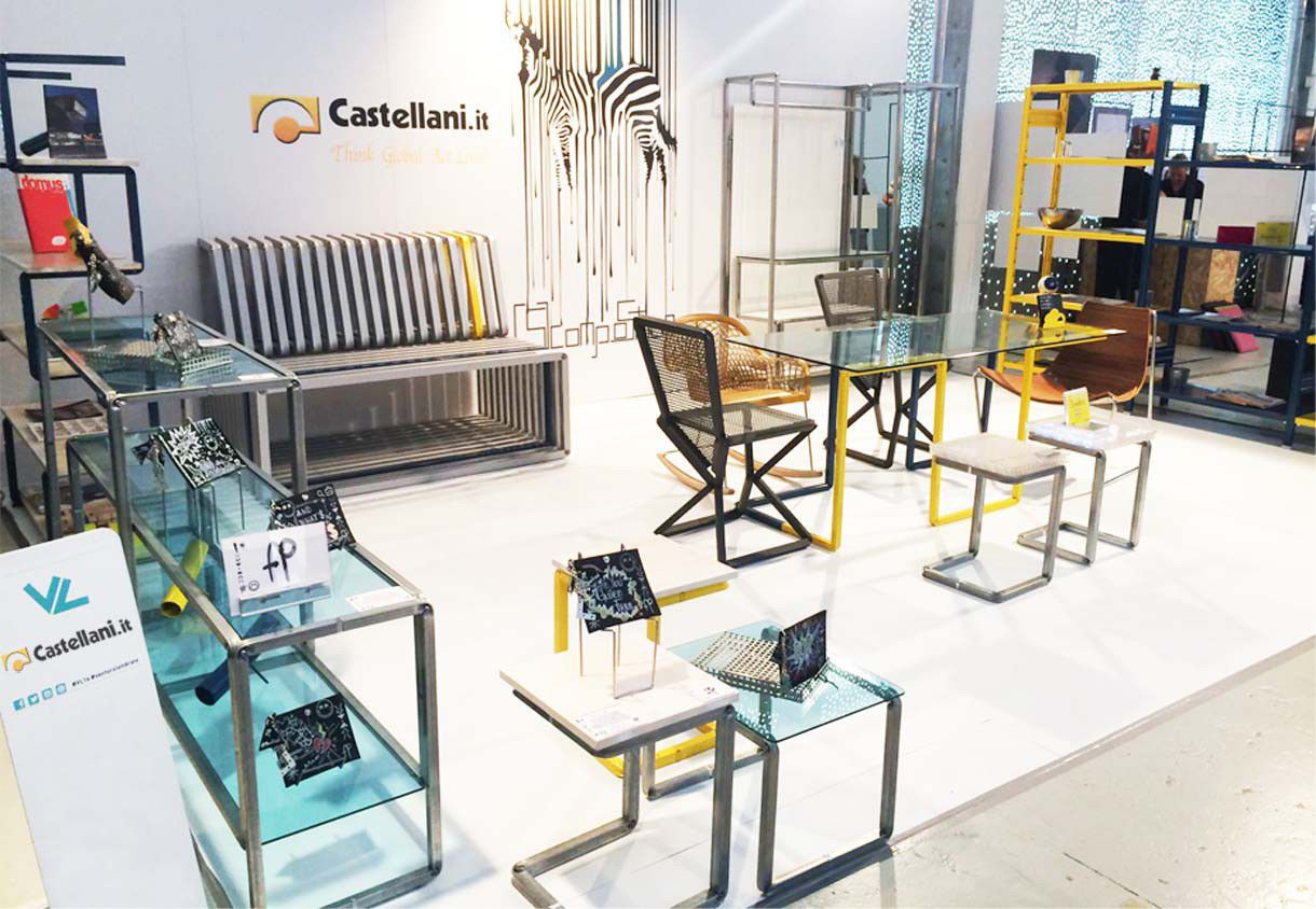 Modernes Regal / Metall / Gewerbe - STORETS - Castellani.it srl