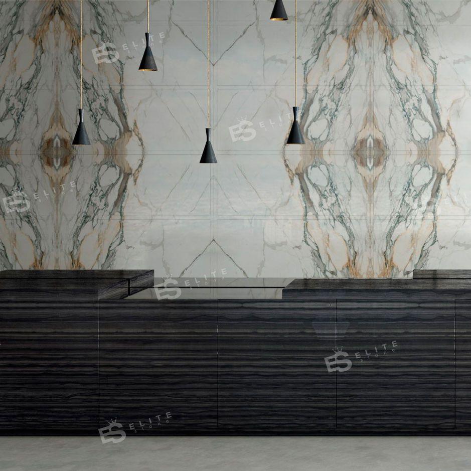 Innenraum-Fliesen / Wand / aus Marmor / rechteckig - INTERIORS ...