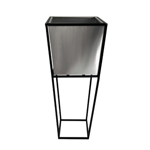 Edelstahl-Pflanzkübel / modern - J420 - Le Présent