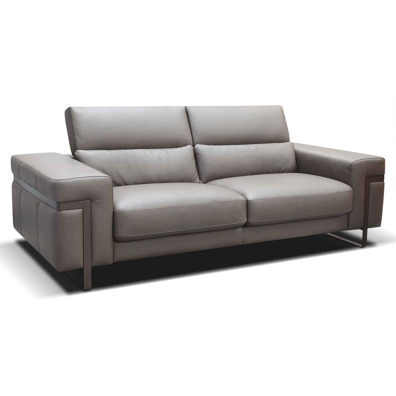 Wunderschön Sofa Mit Kopfstütze Referenz Von Modernes / Leder / Kopfstütze - Ponte