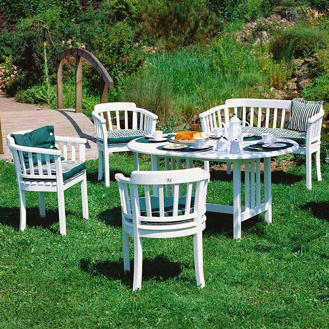 Moderner Tisch Kunststoff Oval Fur Den Garten Dominique