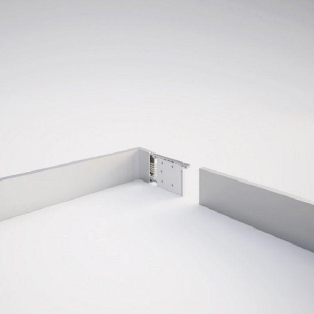 Aluminium-Kabelkanal / wandmontiert / Schreibtisch / deckenmontiert ...