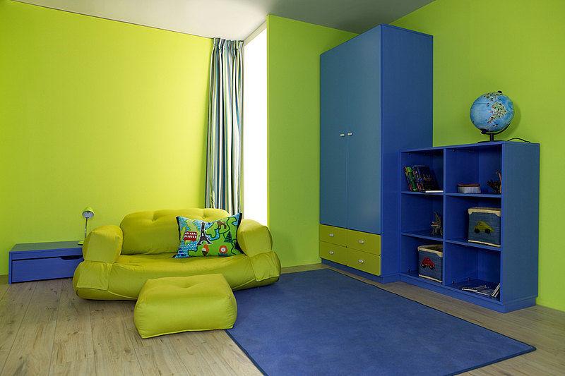 Blaues Kinderzimmer Grun Unisex Debe Destyle Kids Room 06