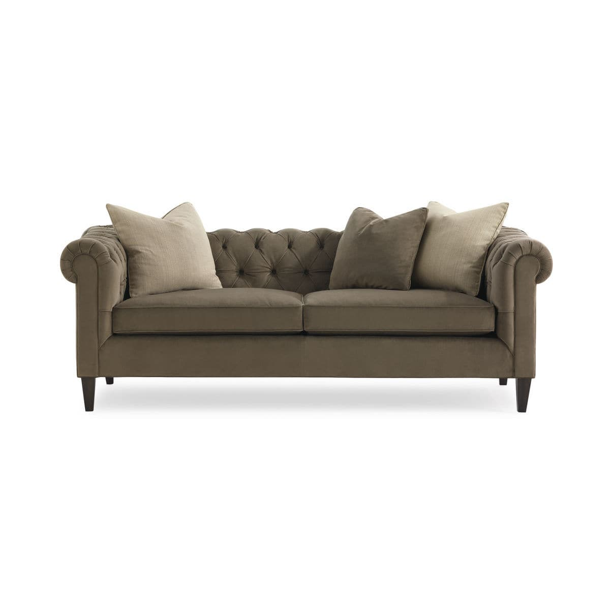 Chesterfield-Sofa / Stoff - MODERN ARTISANS : BELLEVUE - CARACOLE