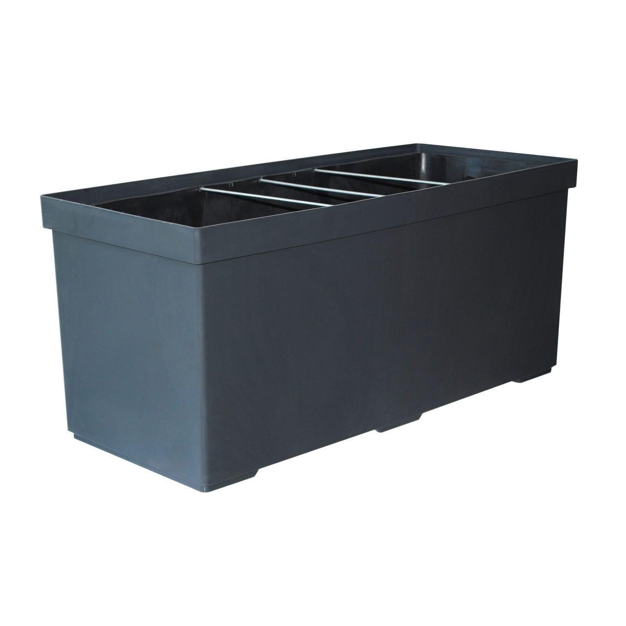 kunststoff-pflanzkübel / rechteckig / modern - carina - pasquini & bini