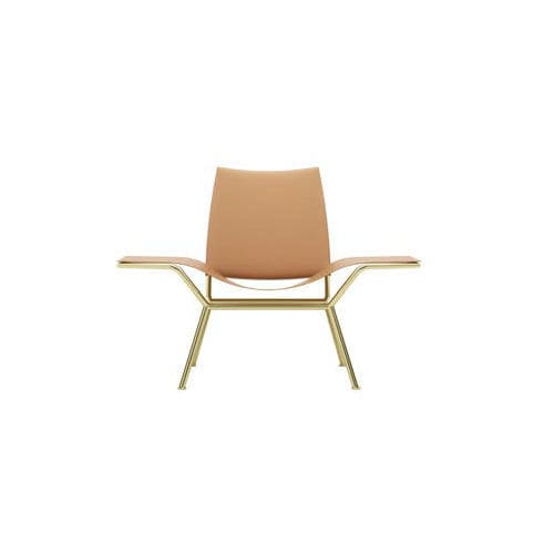 Moderner Sessel Leder Stahl Love Zalaba Design