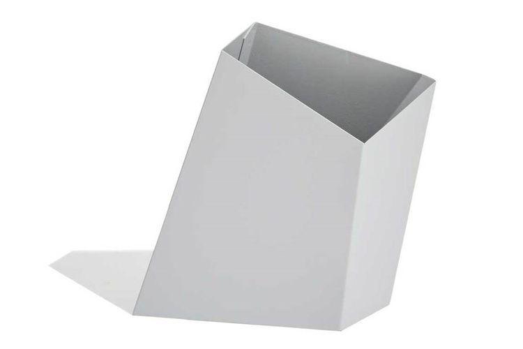 Aluminium-Pflanzkübel / Cortenstahl / modern / für öffentliche ...