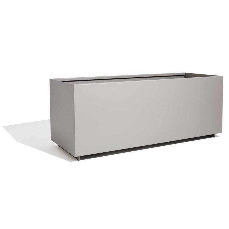 Edelstahl-Pflanzkübel / Aluminium / COR-TEN®-Stahl / rechteckig ...