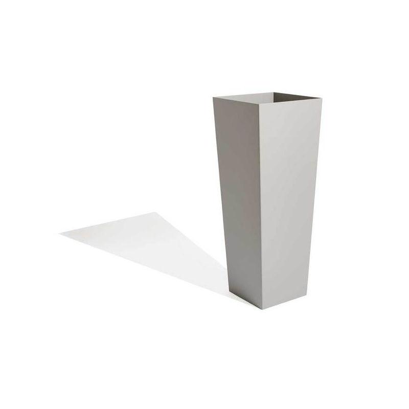 Edelstahl-Pflanzkübel / Aluminium / Cortenstahl / vertikal - TAPER ...